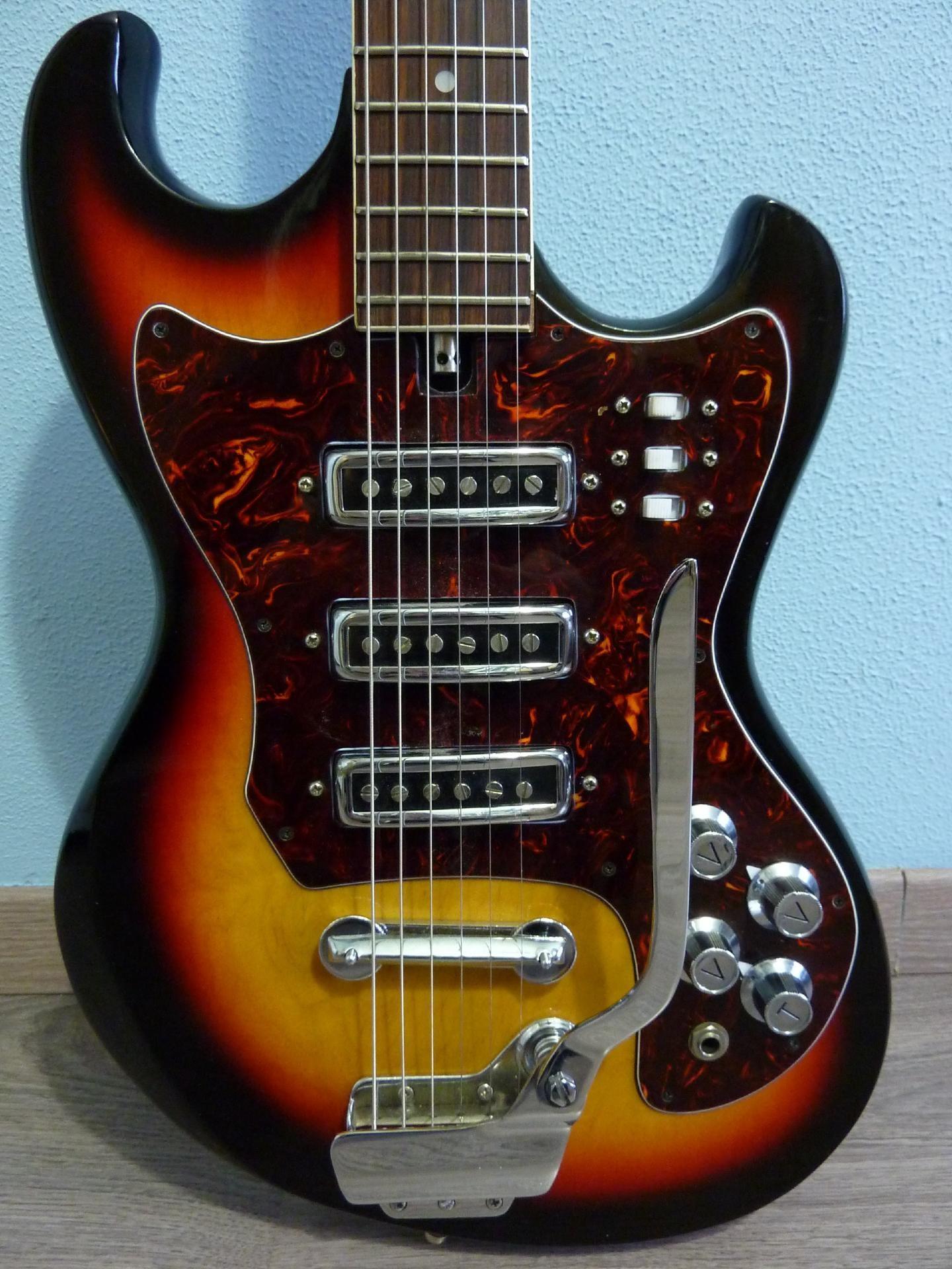 teisco kawai electric guitar buy vintage teisco guitar at hender amps vintage guitar shop. Black Bedroom Furniture Sets. Home Design Ideas